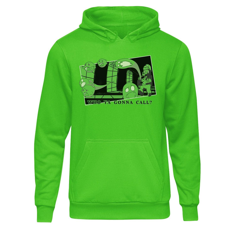 College Hoodie (Luigi Who Ya Gonna Call)
