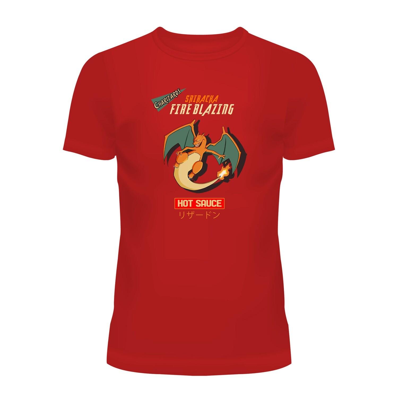 Cotton T-Shirt (Charizard Sriracha)