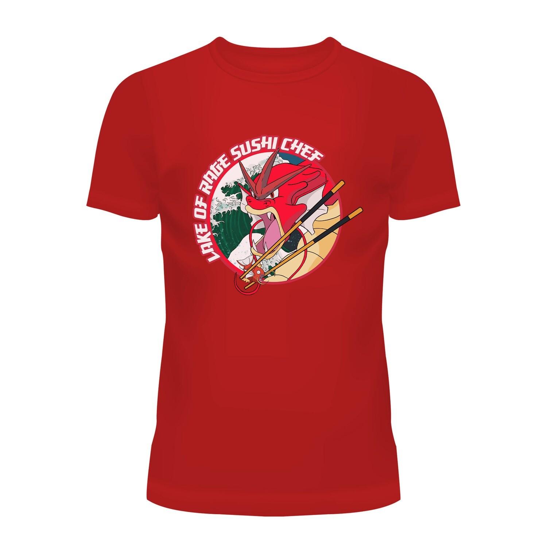 Cotton T-Shirt (Gyarados Sushi Chef)