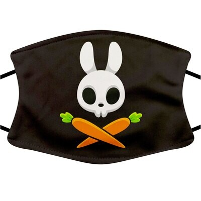 Face Mask Adult (Carrot Pirate)