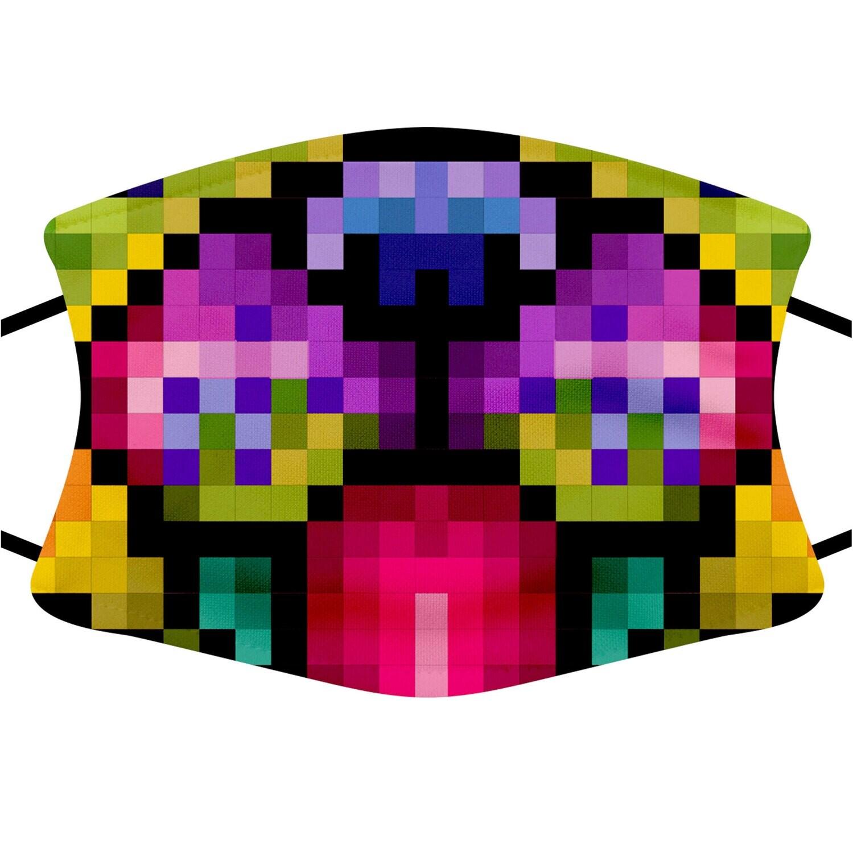 Face Mask Adult (Pixel Pug)