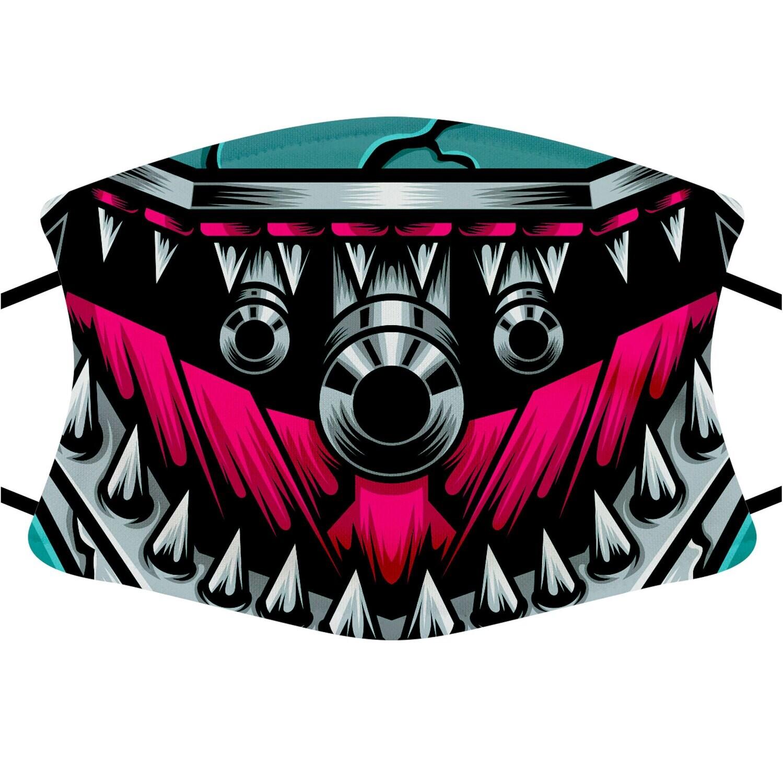Face Mask Adult (Robo Shark)