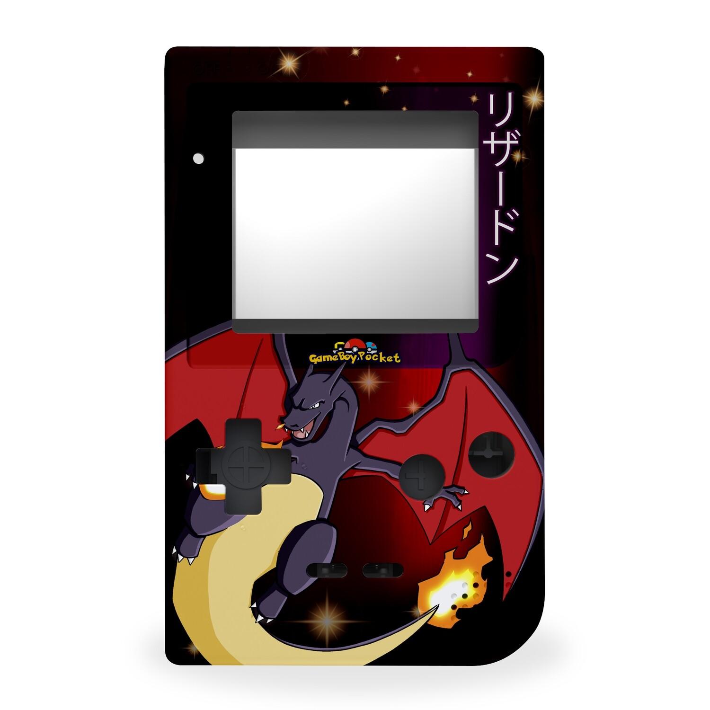 Game Boy Pocket Printed Shell (Shiny Charizard)