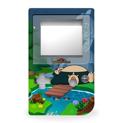 Game Boy Pocket Printed Shell (Snorlax)