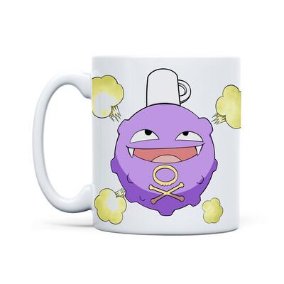 Mug White (Koffing Koffing)