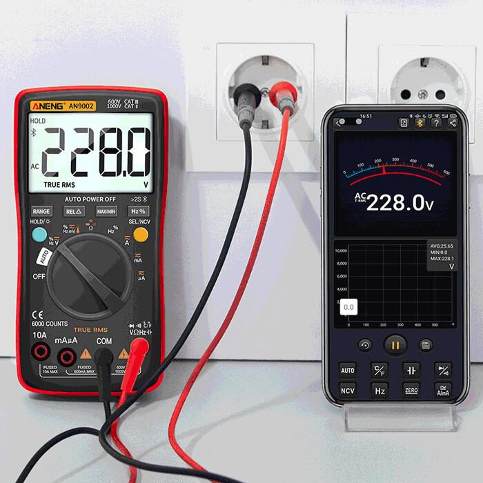 Bluetooth Digital Multimeter