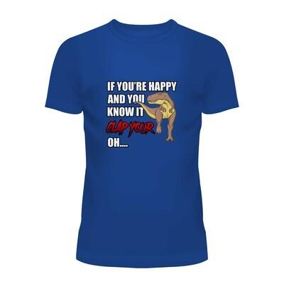 Cotton T-Shirt (Clap Your Oh...)