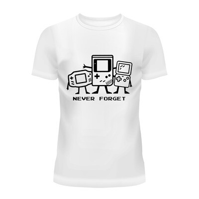 Cotton T-Shirt (Never Forget)