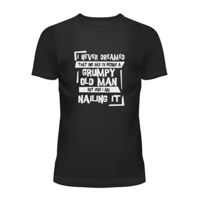 Cotton T-Shirt (Grumpy Old Man)