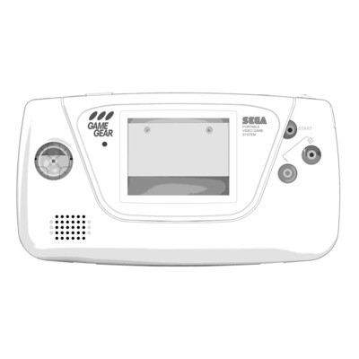 Game Gear Printed Shell (Design Your Own)
