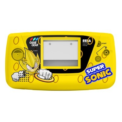 Game Gear Printed Shell (Super Sonic Fleetwood)