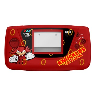 Game Gear Printed Shell (Knuckles Glide)