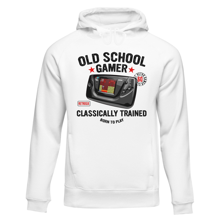 College Hoodie (Old School Gamer)