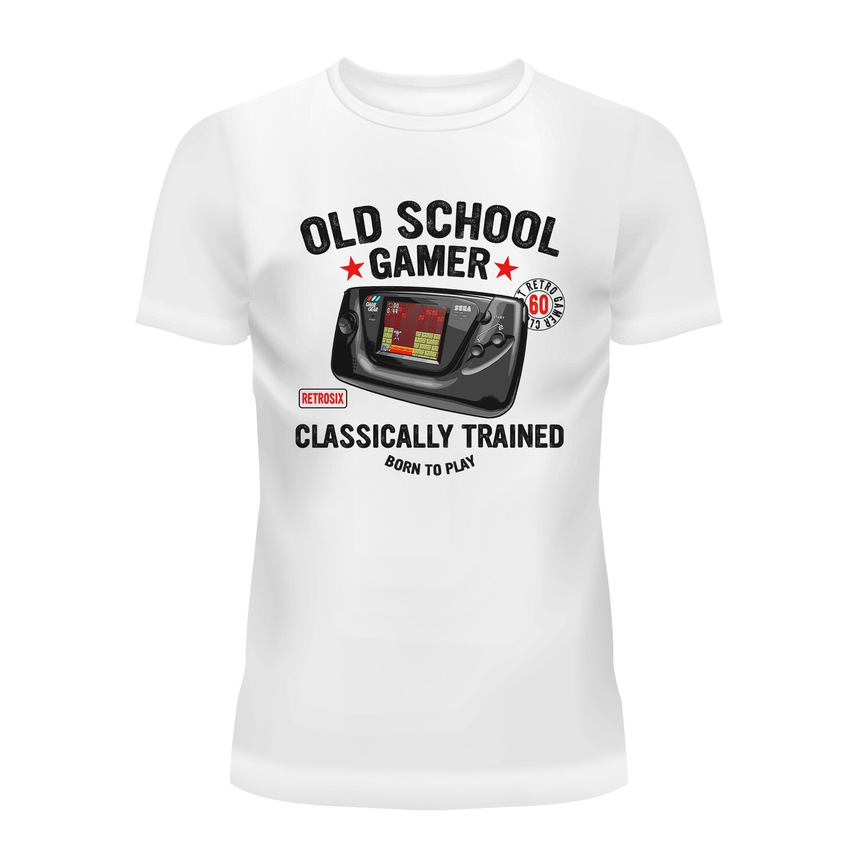 Cotton T-Shirt (Old School Gamer)
