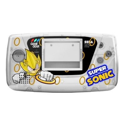 Game Gear Printed Shell (Super Sonic Fleetwood Clear)