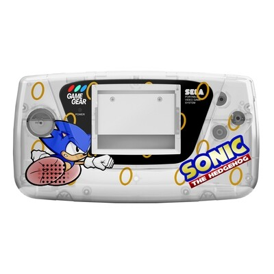 Game Gear Printed Shell (Sonic Dash Clear)