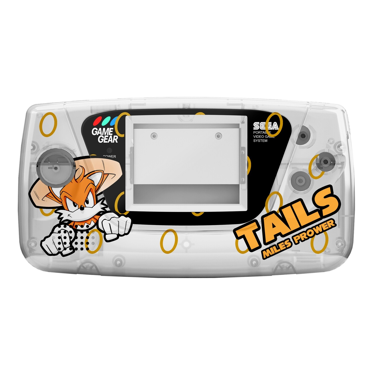Game Gear Printed Shell (Tails Fly Clear)