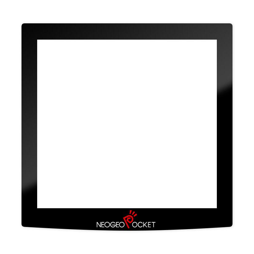 Neo Geo Pocket Glass Glass Screen Lens (Black)