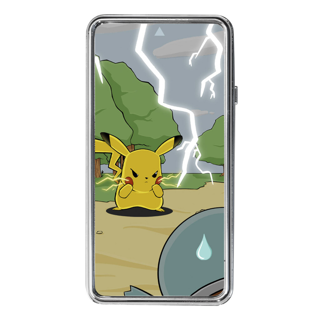 USB Chargeable Electric Lighter (Angry Pikachu)