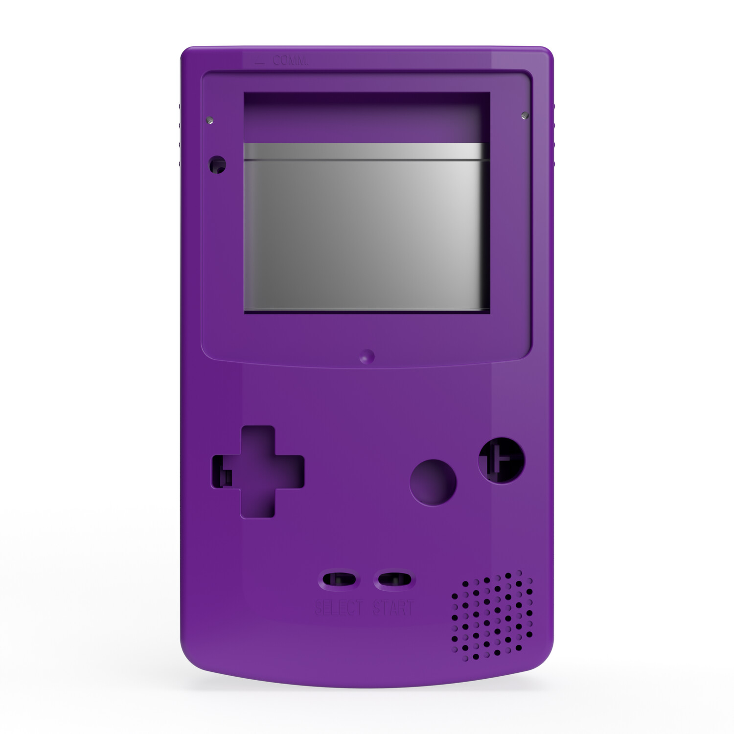 Game Boy Color Shell (Solid Purple)