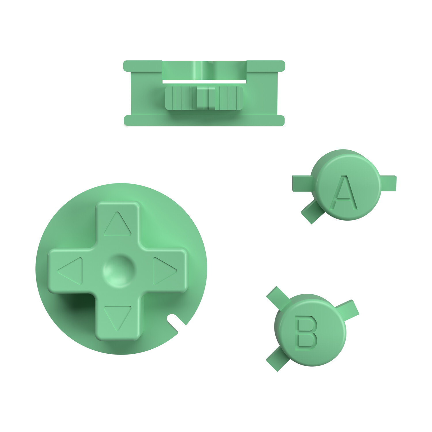 Game Boy Color Buttons (Pastel Green)