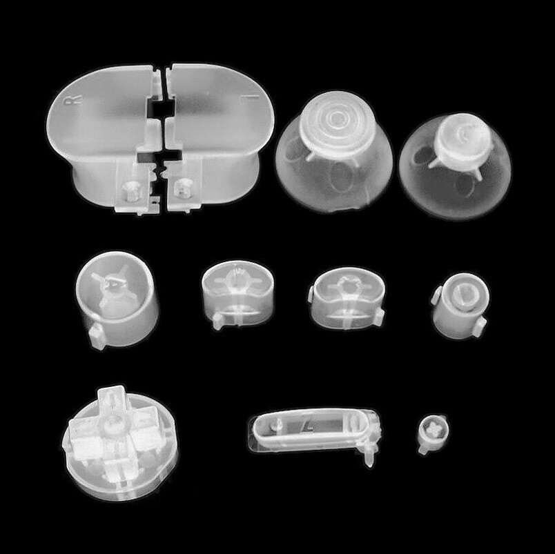 GameCube Buttons (Clear)