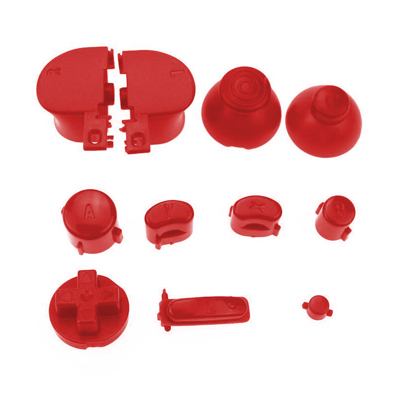 GameCube Buttons (Red)