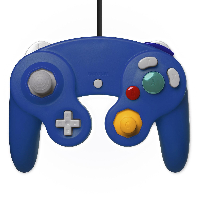 GameCube Controller Wired (Dark Blue)