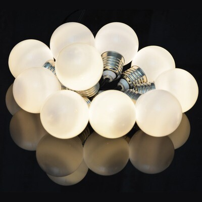 Indoor Battery 10 Warm White LED Festoon Lights