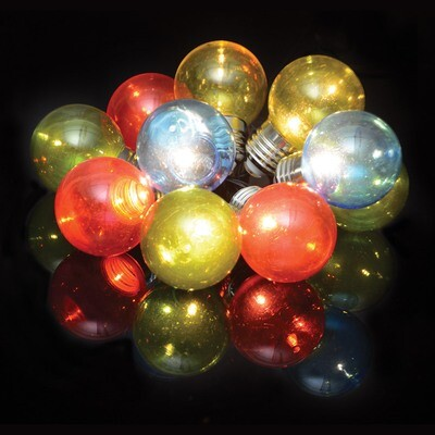 Indoor Battery 10 Multi Colour LED Festoon Lights