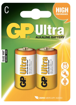 GP Ultra C Batteries X2
