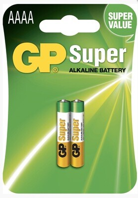 GP super AAAA Batteries X2
