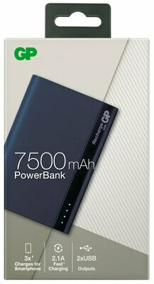 GP Powerbank 7500Mah Dual Charger