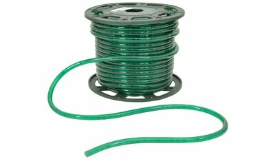 Filament Rope Light - Green 45m drum