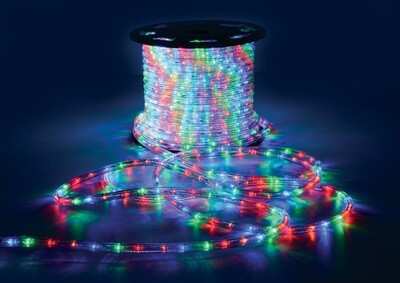 LED Rope Light 45m Roll - Multi Coloured