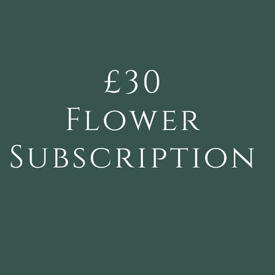 £30 Flower Subscription