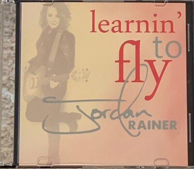"""Autographed Hard Copy of """"Learnin' To Fly"""" EP"""