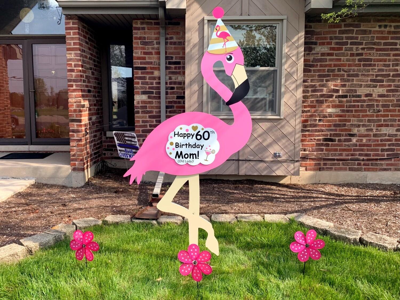 6 Foot Tall Flamingo