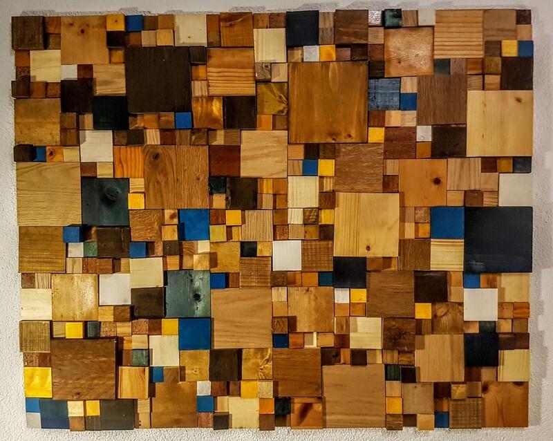 Holzbild 80x100 cm