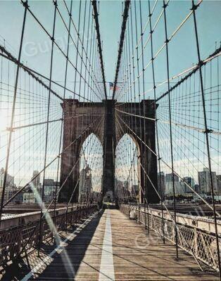Brooklyn Bridge Sky
