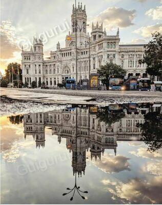 Madrid - Cibeles - Sunrise