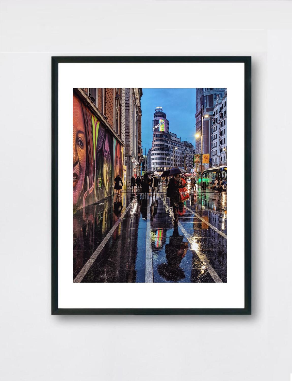 Colours of the Rain - Madrid - Colores de la lluvia