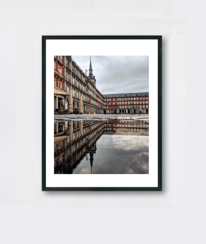 Plaza Mayor Reflection- Madrid