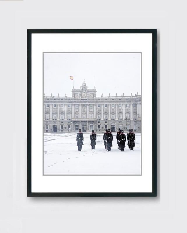 Palacio Real - Nieve Madrid