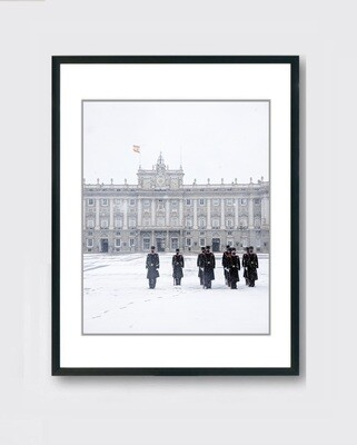Palacio Real - Nieve Madrid