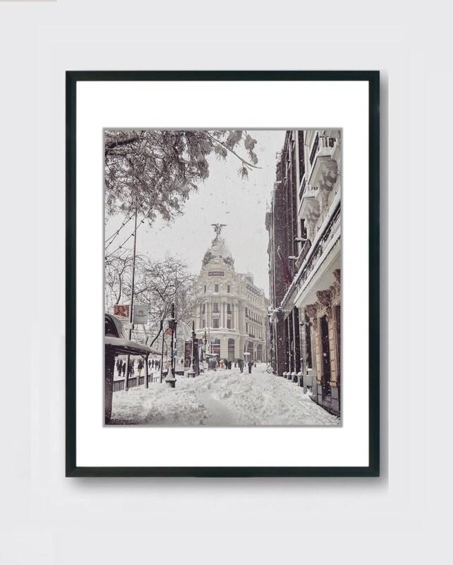 Metropolis - Nieve Madrid