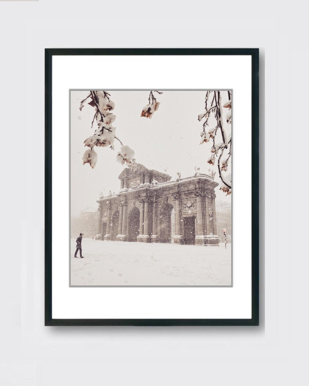 Puerta de Alcalá - Nieve Madrid