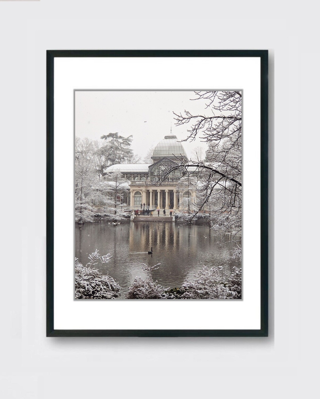 Palacio de Cristal - Nieve Madrid - Retiro