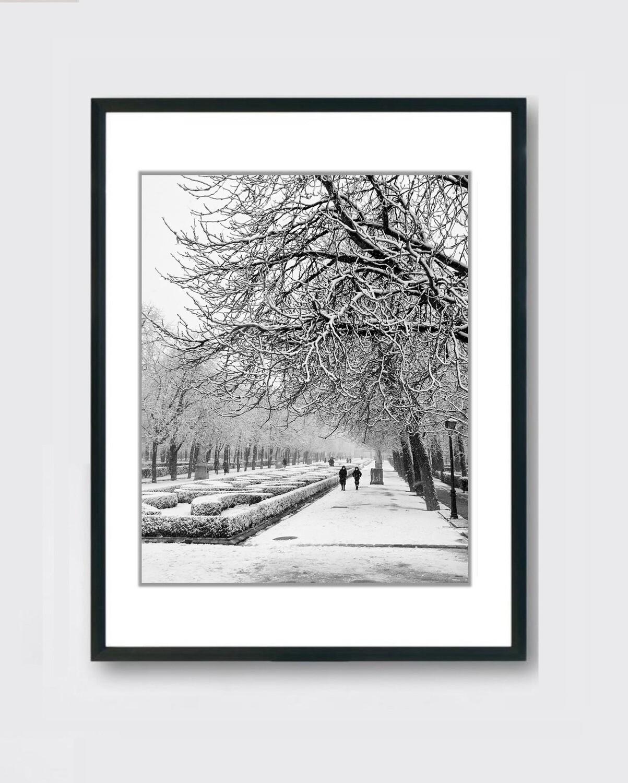 Retiro - Nieve Madrid