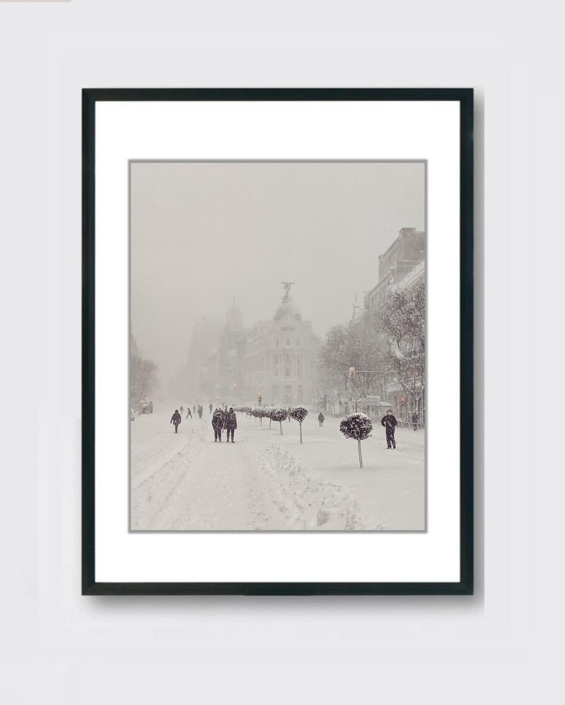 Madrid Nieve Metropolis